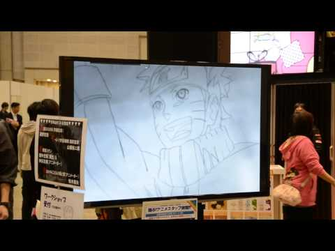 TAF 2013: Anime is Created from Fans' Drawings of