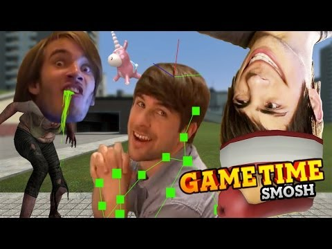 HUNTING DOWN PEWDIEPIE (Gametime w/Smosh)