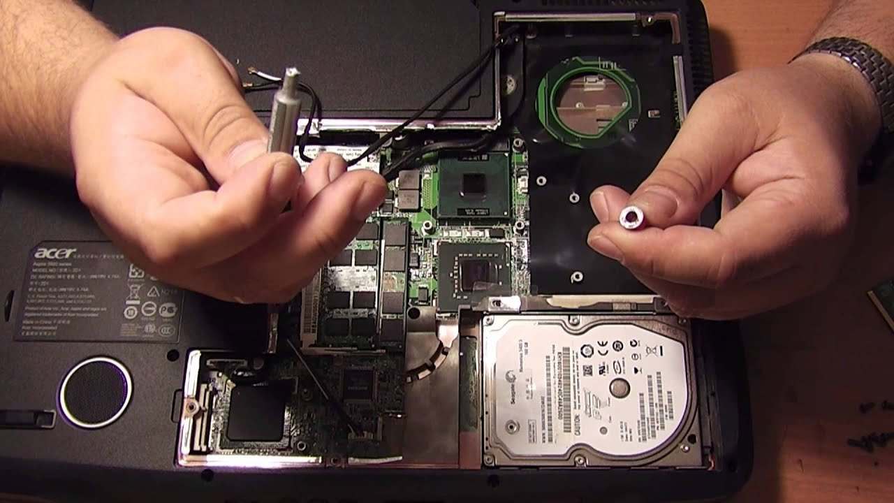 Не работает экран ноутбука acer починить 119