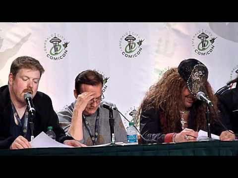 Voice Actors reading Star Wars script panel clip 9