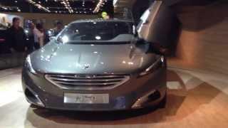 Peugeot HX1 extreem concept car hybrid suv