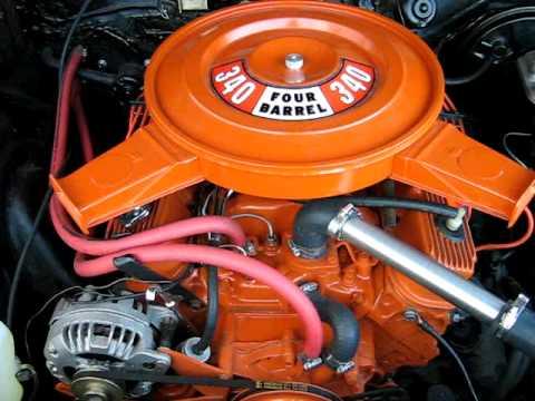 Dodge V8 Small Block Engine Vid In Car Youtube
