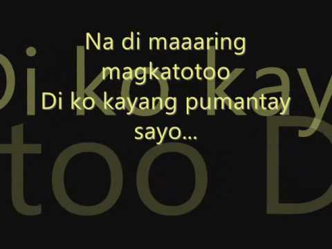 Fixing a Broken Heart Tagalog Version