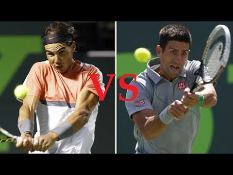 Novak Djokovic vs Rafael Nadal Highlights || Miami 2014 Final