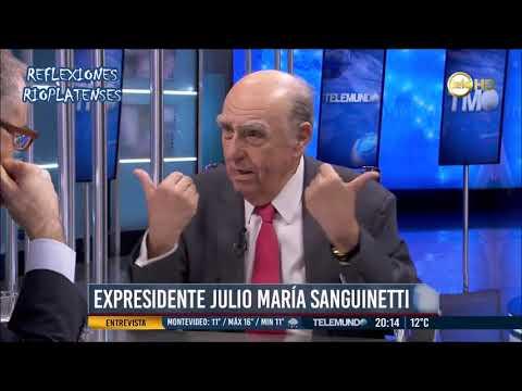 POLÍTICA URUGUAYA: JULIO MARÍA SANGUINETTI OPINA SOBRE TODO (HD)