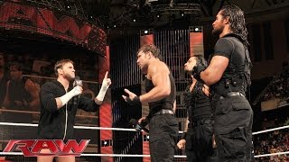 CM Punk wants to face one member of The Shield: Raw, Dec. 30, 2013