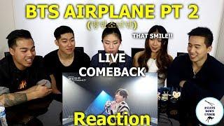 Asians Watch BTS (방탄소년단) - Airplane Part.2 live comeback show   Reaction - Australian Asians