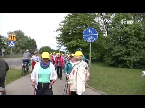 Spacer historyczny nordic walking - Sieradzka TV Media