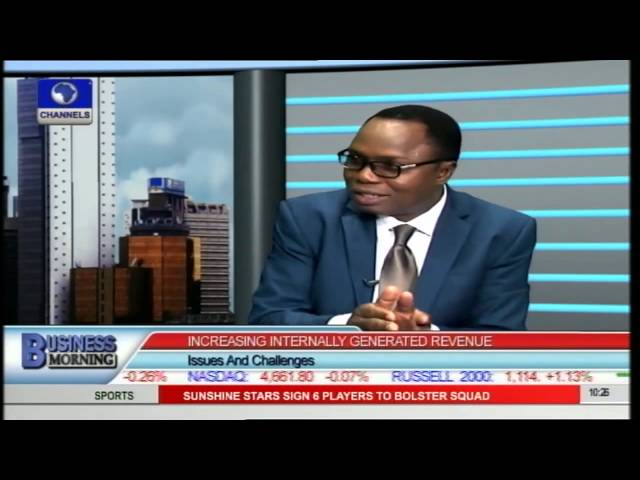 Business Morning: Increasing Nigeria's Internally Generated Revenue Pt.1