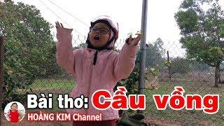 Bài thơ: Cầu Vồng ❤ Bé Hoàng Kim ❤ Tác giả: Phạm Thanh Quang
