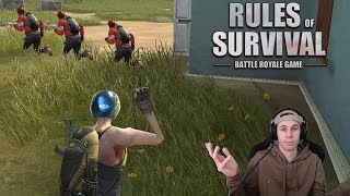 They All Kept Running! (Rules of Survival)