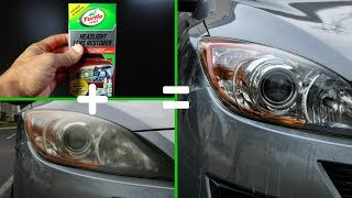 DIY Headlight cleaner (Fast and Easy)