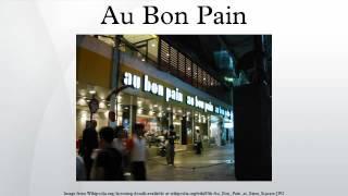 Au Bon Pain โอ ปอง  แปง เมนูเยอะ ช่วงหัวค่ำเบเกอร์รี่3จ่าย2