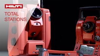 Hilti Robotic and Mechanical Total Stations