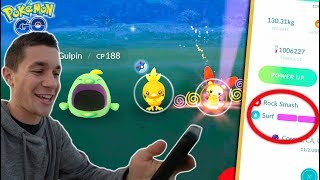 CATCHING NEW GENERATION 3 MONS + NEW MOVES ADDED in Pokémon Go!
