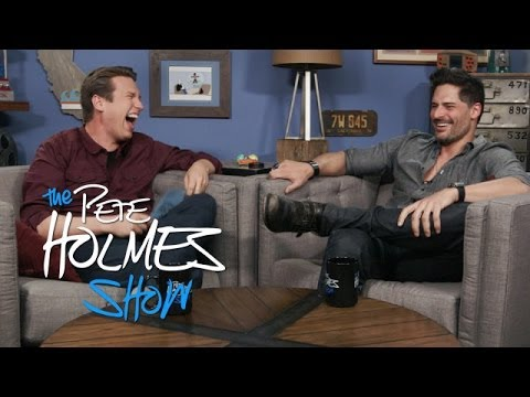 Joe Manganiello Talks