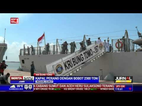 KRI Bung Tomo Asal Inggris Tiba di Indonesia