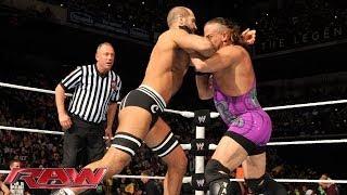 Rob Van Dam vs. Cesaro - Intercontinental Championship No. 1 Contender's Tournament Match