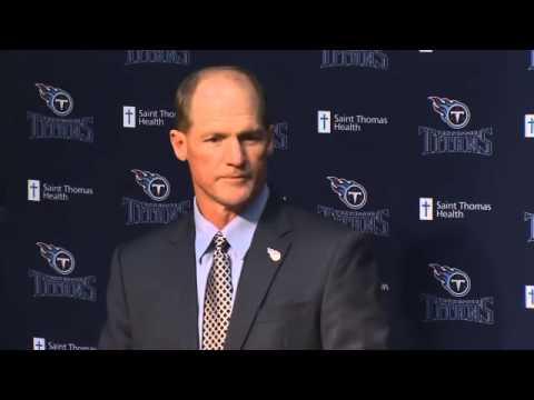 RAW NEWS: Titans Introduce Ken Whisenhunt as their new coach