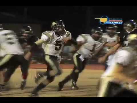 Teeth Rattling Football Hit - Oklahoma Bible Academy