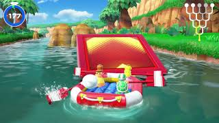 Super Mario Party: River Survival (clear #4 and #5 and Ending)