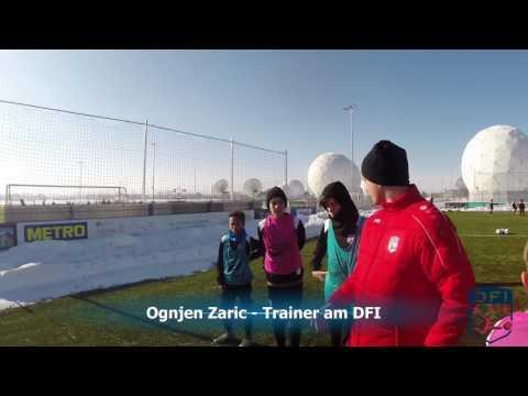 Technik Training am Deutschen Fußball Internat
