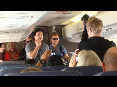Gavin DeGraw on Southwest Flight 425, Live at 35