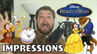 Beauty and the Beast Impressions