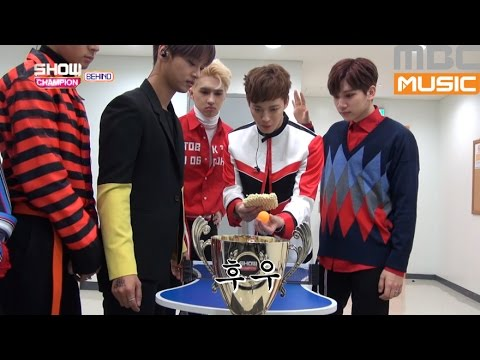 (Showchampion behind EP.5) VIXX Ping-Pong table tennis