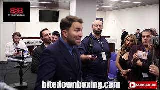 "Eddie Hearn ""the only way Fury beats Wilder is..."" plus he drops Joshua's resume"