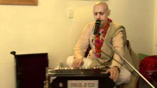 2011.01.08. Kirtan by H.G. Sankarshan Das Adhikari - Wellington, NEW ZEALAND