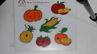 tranh gỗ nâng cao tri tue của trẻ kisd @@jigsaw puzzle games to improve the marrow of children@@