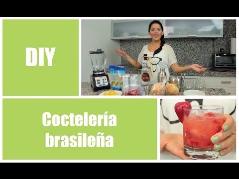 Coctelería brasileña - 3 recetas