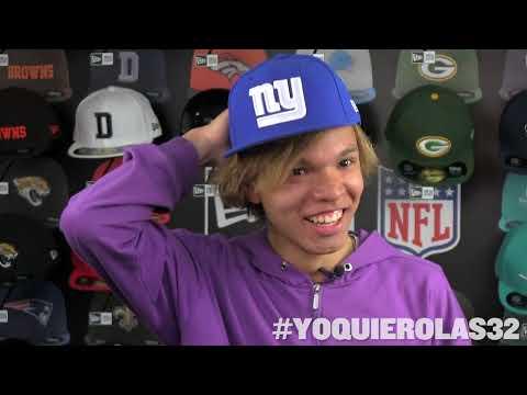 Entregamos las gorras New Era de #YoQuieroLas32