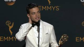 Rami Malek Emmy Award 2016 Interview