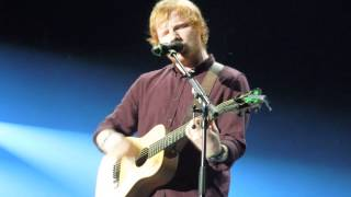 Ed Sheeran - Superstition & Take It Back - X Tour - France - Clermont Ferrand - 01/02/2015
