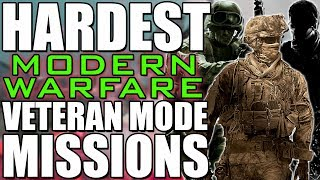 HARDEST Modern Warfare Trilogy Missions on Veteran (MW,,MW2,MW3)