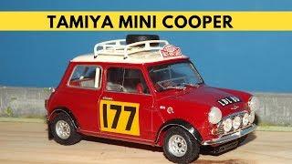 Tamiya Mini Cooper - Model 1/24 Build