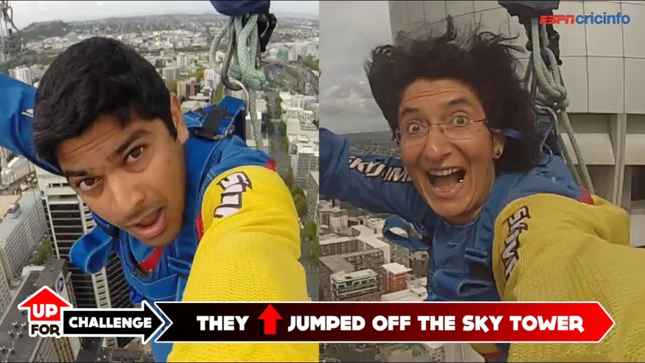 Sky Tower Jump Jumping Off The Auckland Sky