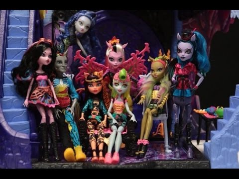 Fusion Monster High Freaky Movie