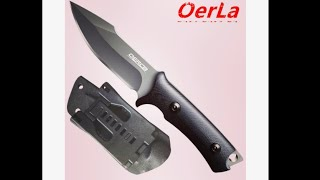 Tactical Survival Knife with Kydex Sheath!