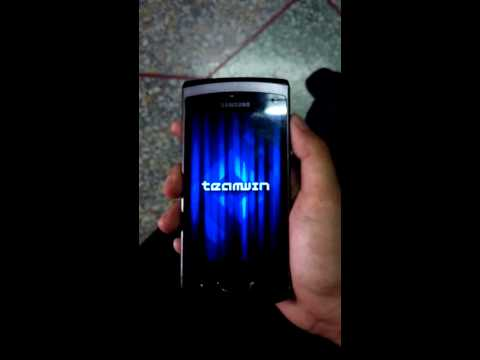Samsung Wave2 Wipe data & system on Recovery Mode
