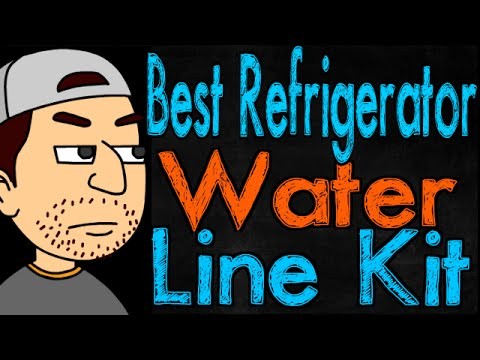 How to install a refrigerator water supply kit how to for Plastic water lines vs copper