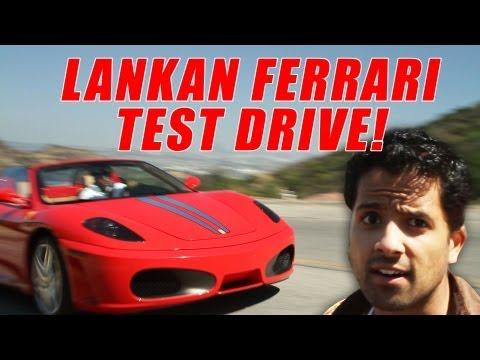 Sri Lankan Ferrari Test Drive! (TOP GEAR SRI LANKA)