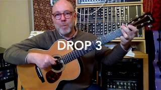 Drop-2 (and Other Drop Voicings) Explained Simply // The ABC's of Guitar Tips