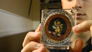 Challenge Coin Display Case! (Gaus-USA Promo)