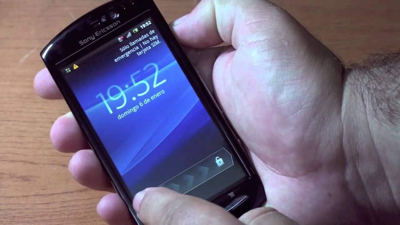 Xperia Neo V Black Sony Ericsson Xperia Neo V