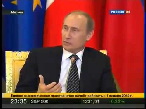 Путин о америконцах мочит на тв