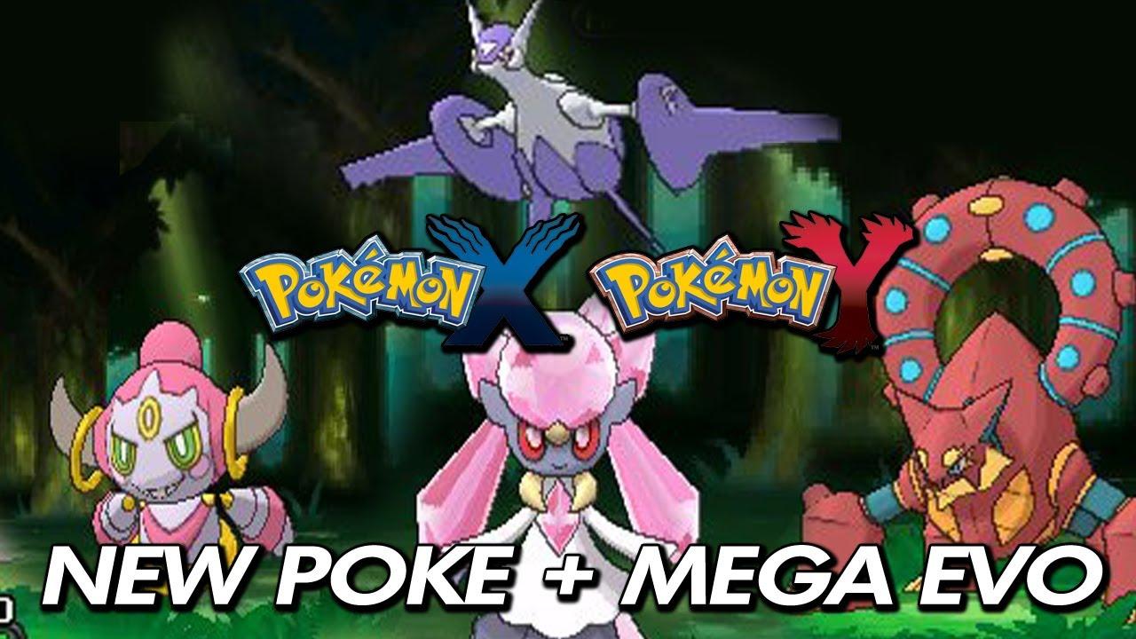 Pokemon X Amp Y Diancie Volcanion Hoopa Mega Latios