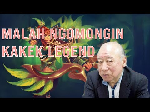 DOTA 2 NGAKAK GATAU KAKEK LEGEND - Windranger Gameplay